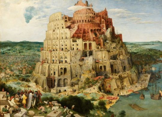 "landscape with the fall of icarus poem analysis New e let us make a city and a tower"" Pieter Bruegel the Elder s"